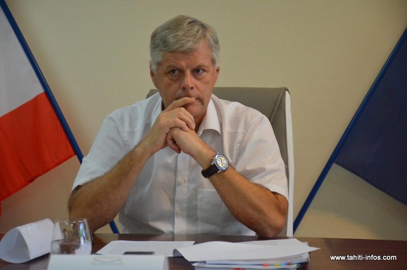 Jacques Mérot, le président de l'Autorité polynésienne de la concurrence.