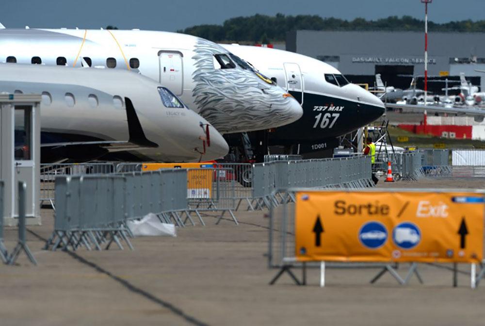 Moindre euphorie pour le Salon aéronautique du Bourget qui s'ouvre lundi