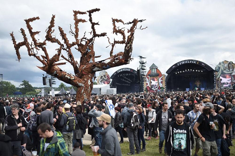 Sculptures géantes, déguisements: trois jours d'attractions et de folie metal au Hellfest