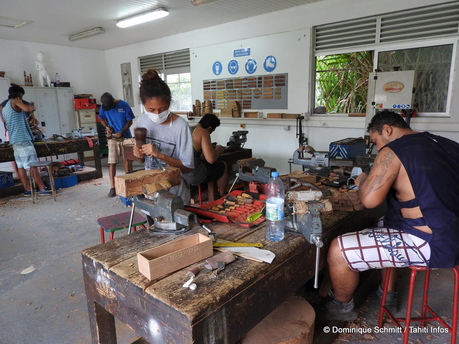 Le Centre des métiers d'art a initié cet événement culturel pour fédérer les artistes de la région Pacifique.