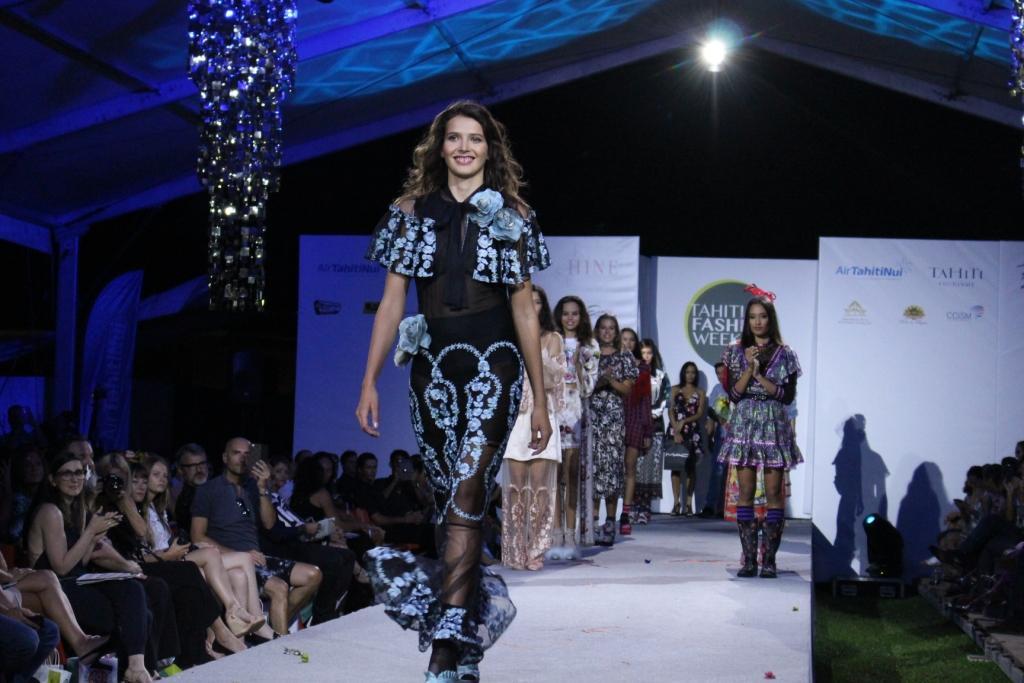 Tahiti Fashion Week : Victoria remporte le concours de mannequins