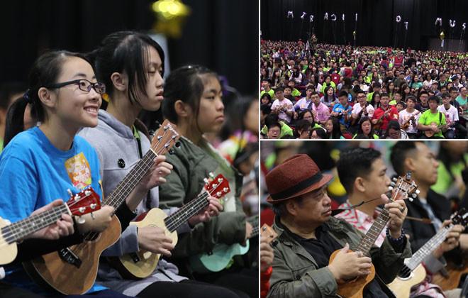 Hong Kong pulvérise notre record du monde de ukulele