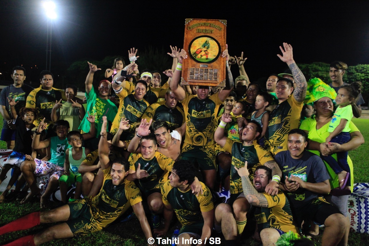 Le RC Faa'a est le grand champion 2017
