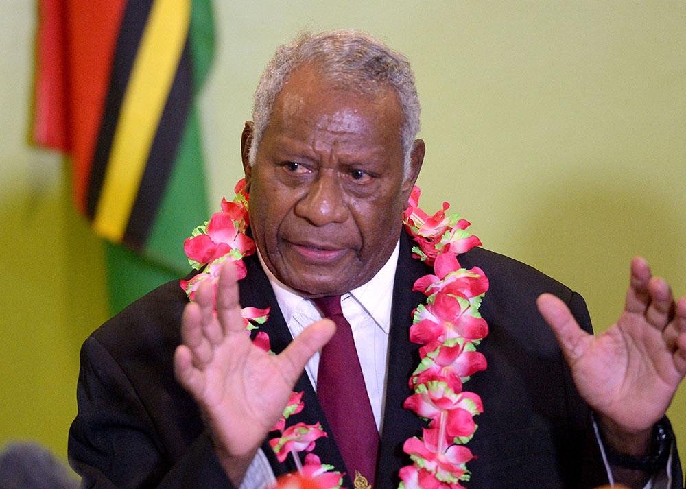 Décès du président du Vanuatu, emporté par une crise cardiaque