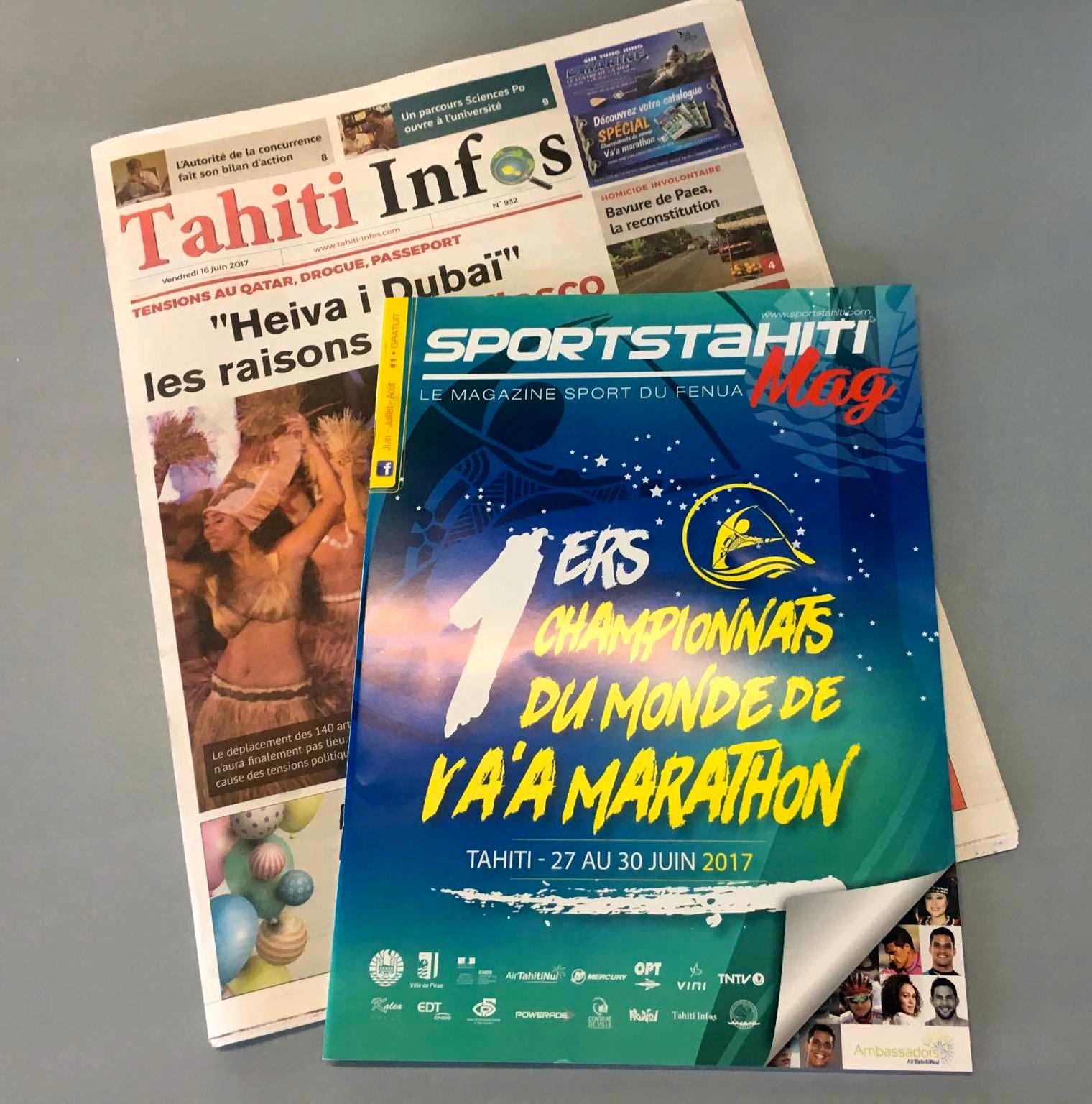 Sport TahitiMag, un nouveau venu