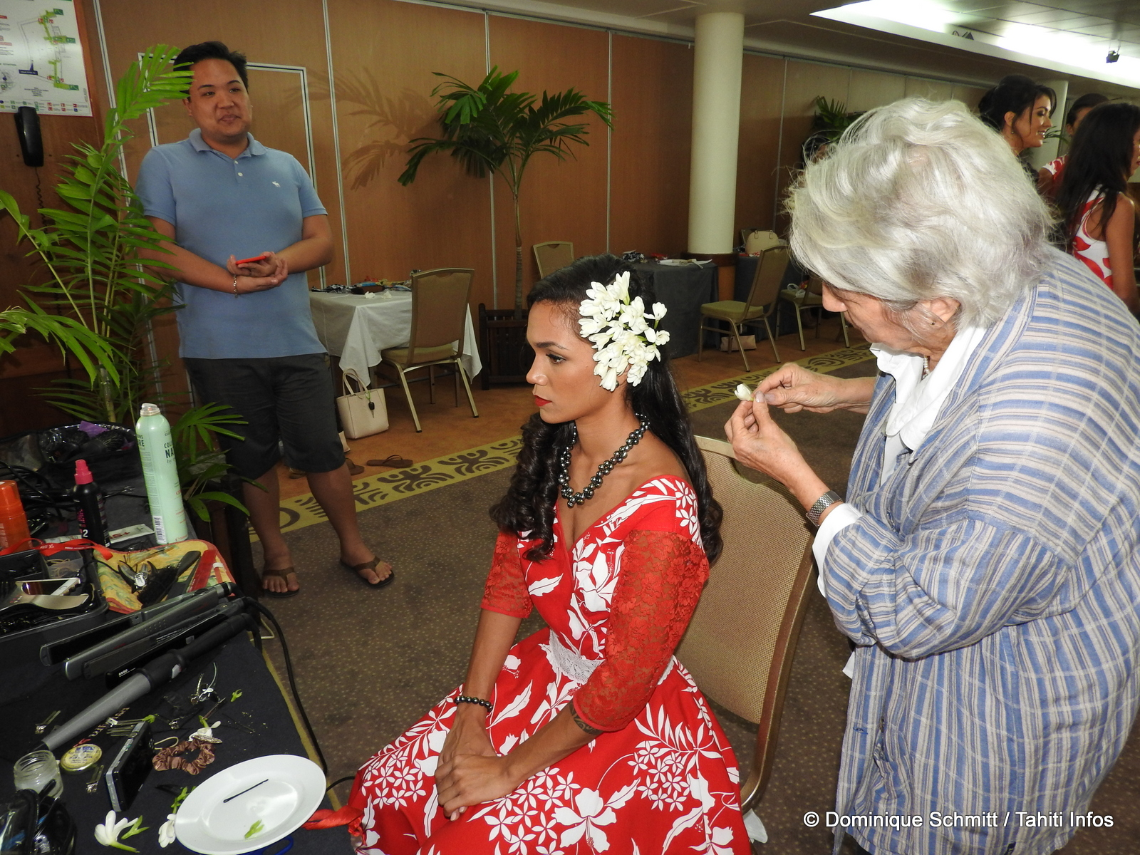 Miss Tahiti 2017 : les candidates passent le grand oral