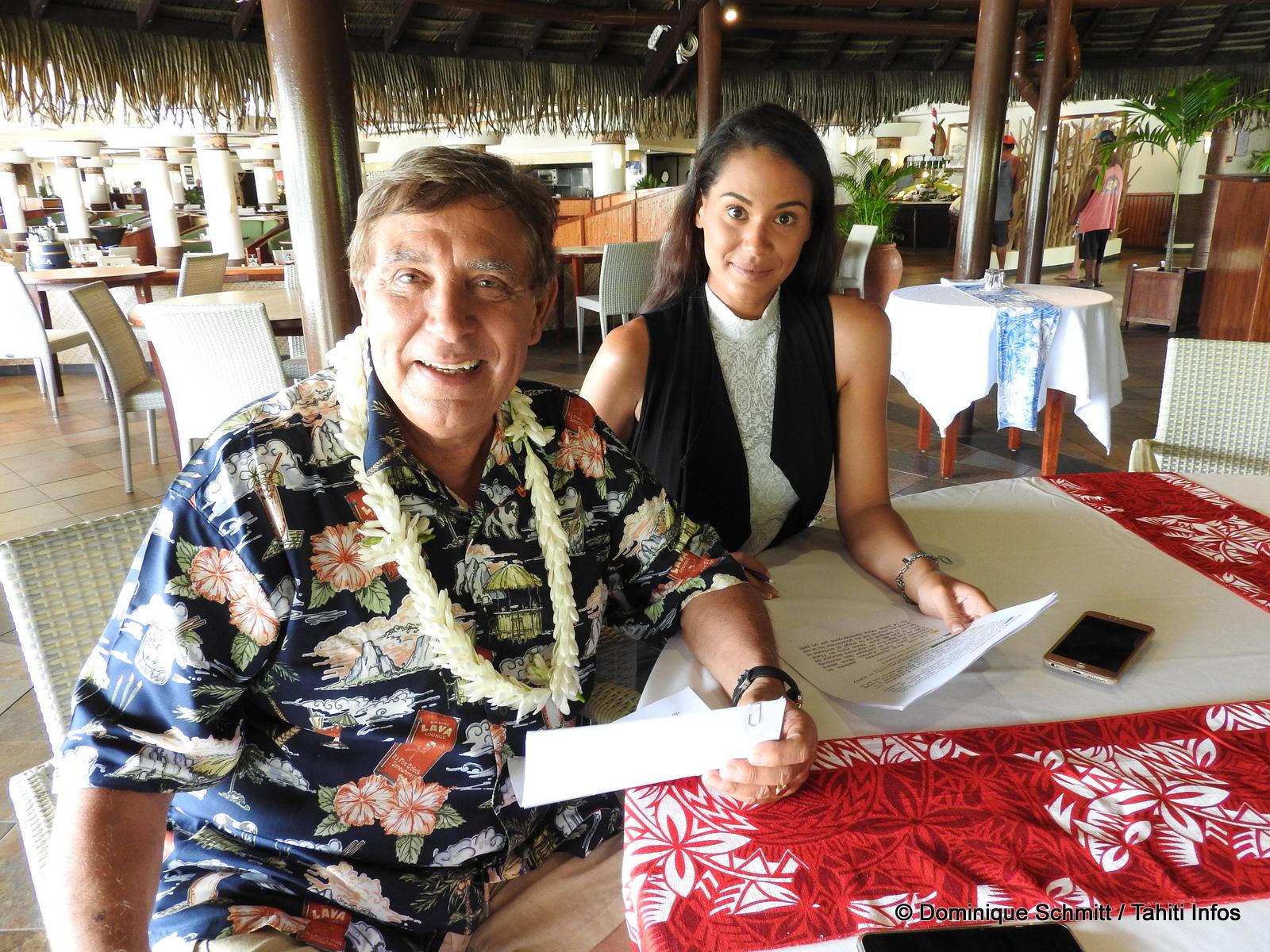 """Jean-Pierre Foucault : """"Les dix candidates Miss Tahiti sont absolument magnifiques"""""""