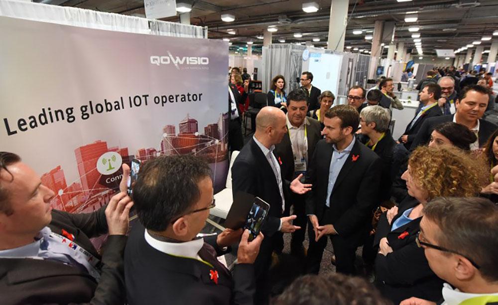 Organisation d'un déplacement de Macron à Las Vegas en 2016: perquisitions chez Havas et à Business France