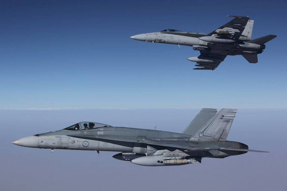 L'Australie suspend ses opérations aériennes en Syrie après les menaces russes