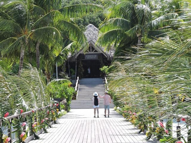 Préavis de grève au Conrad à Bora Bora