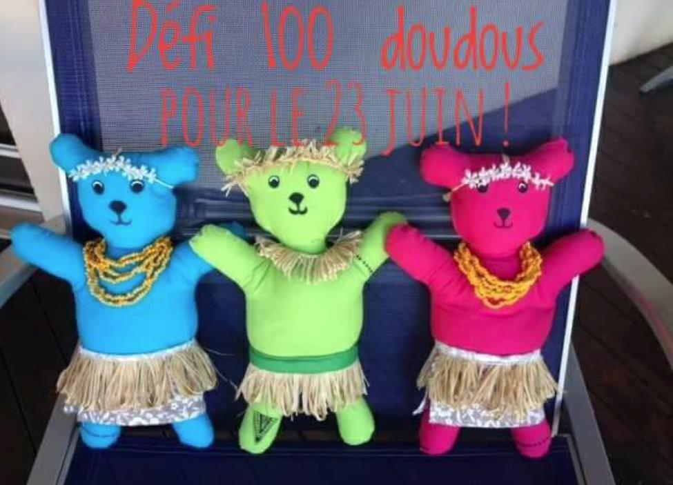 Défi des 100 doudous : plus que trois jours pour participer