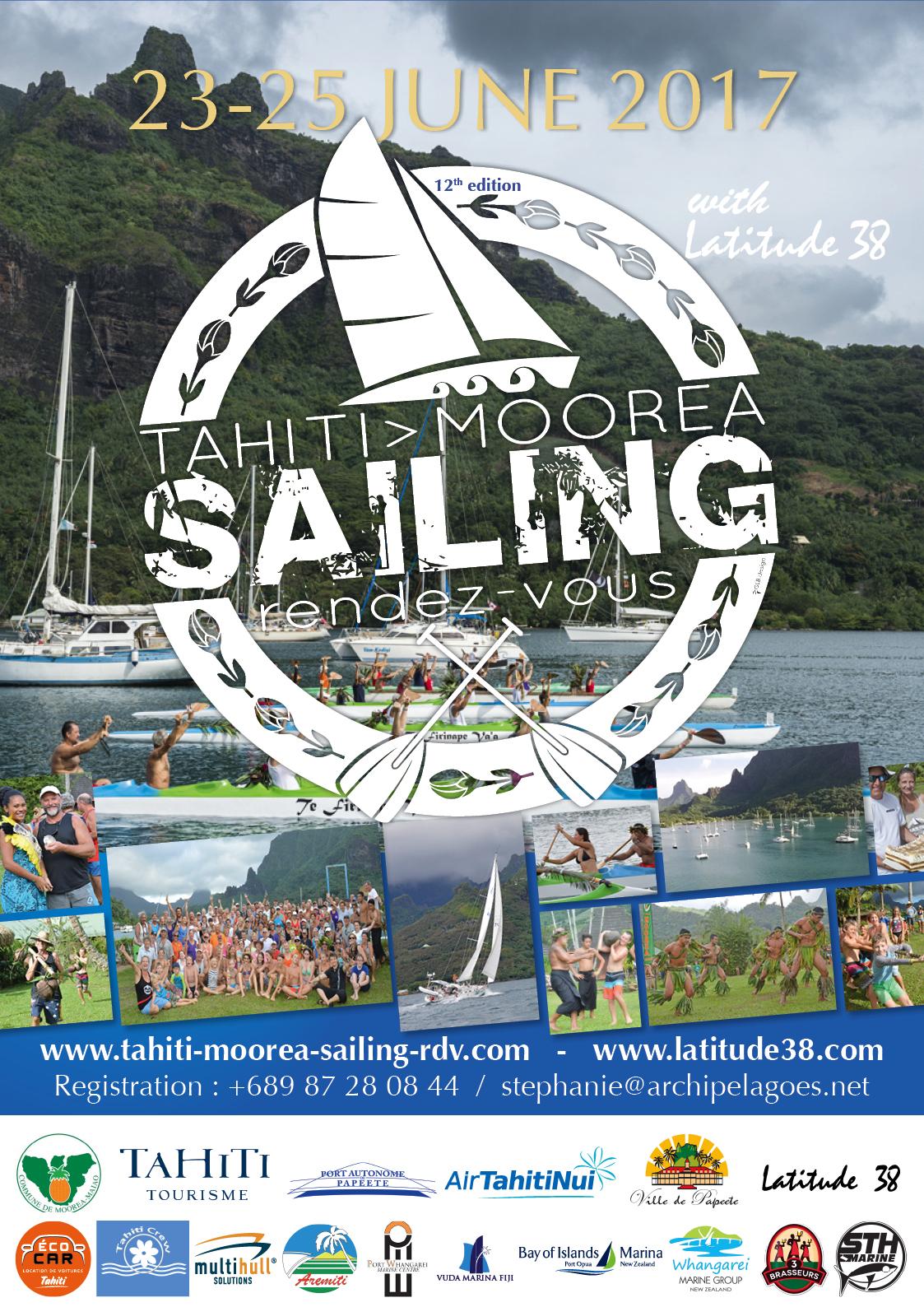 Tahiti Moorea Sailing, 3 jours de festivités