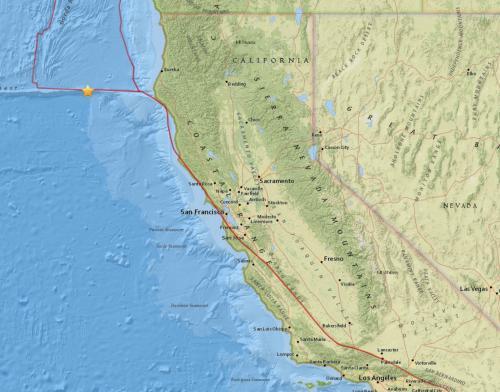"""Fausse alerte en Californie à cause d'un """"Big One"""" signalé par erreur"""