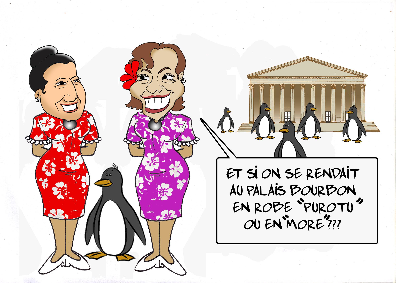 """"""" Rentrée au Palais Bourbon """" par Munoz"""