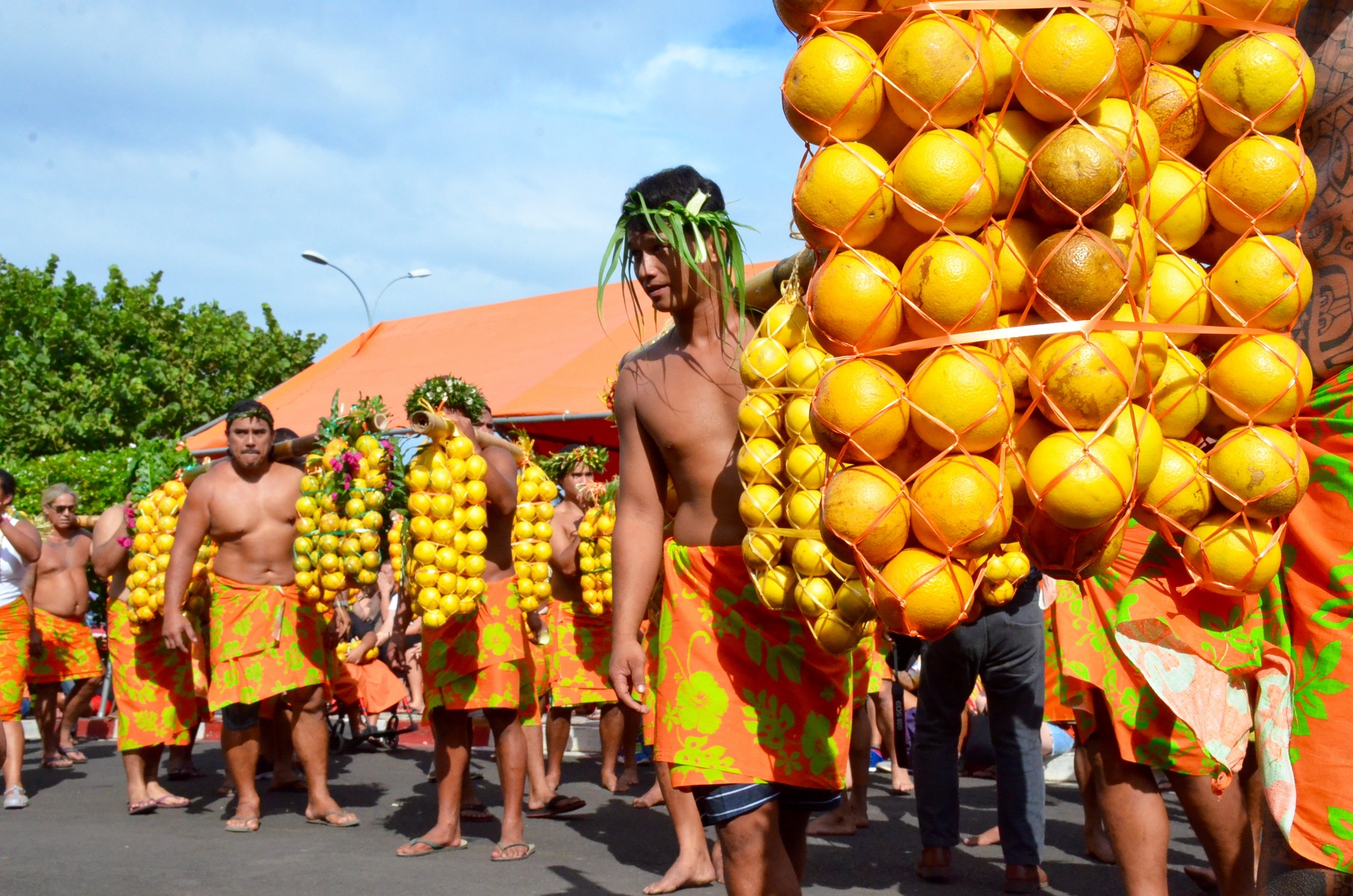 Un week-end pour fêter l'orange à Punaauia