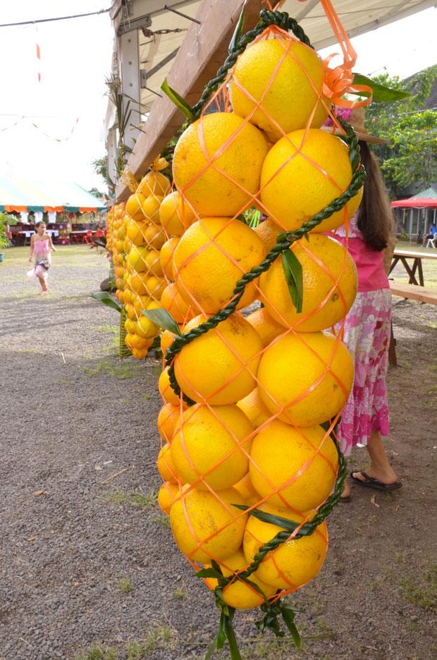 Un week-end pour fêter l'orange à Punaauia