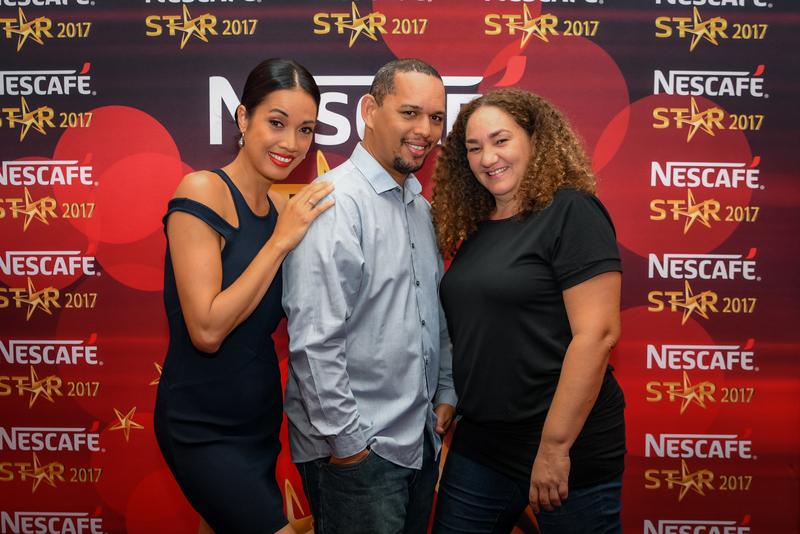 Le jury de Nescafé Star 2017 est composé de Ravanui Teriitaumihau-Lucas, coordinatrice de l'événement, la coach vocal Taloo et Bruno Demougeot, chef d'orchestre.