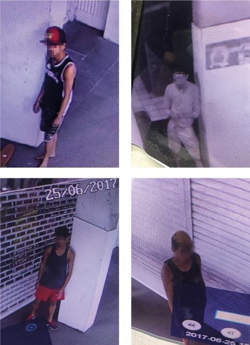 Le propriétaire des lieux a largement diffusé les photos de la vidéosurveillance sur les réseaux sociaux.
