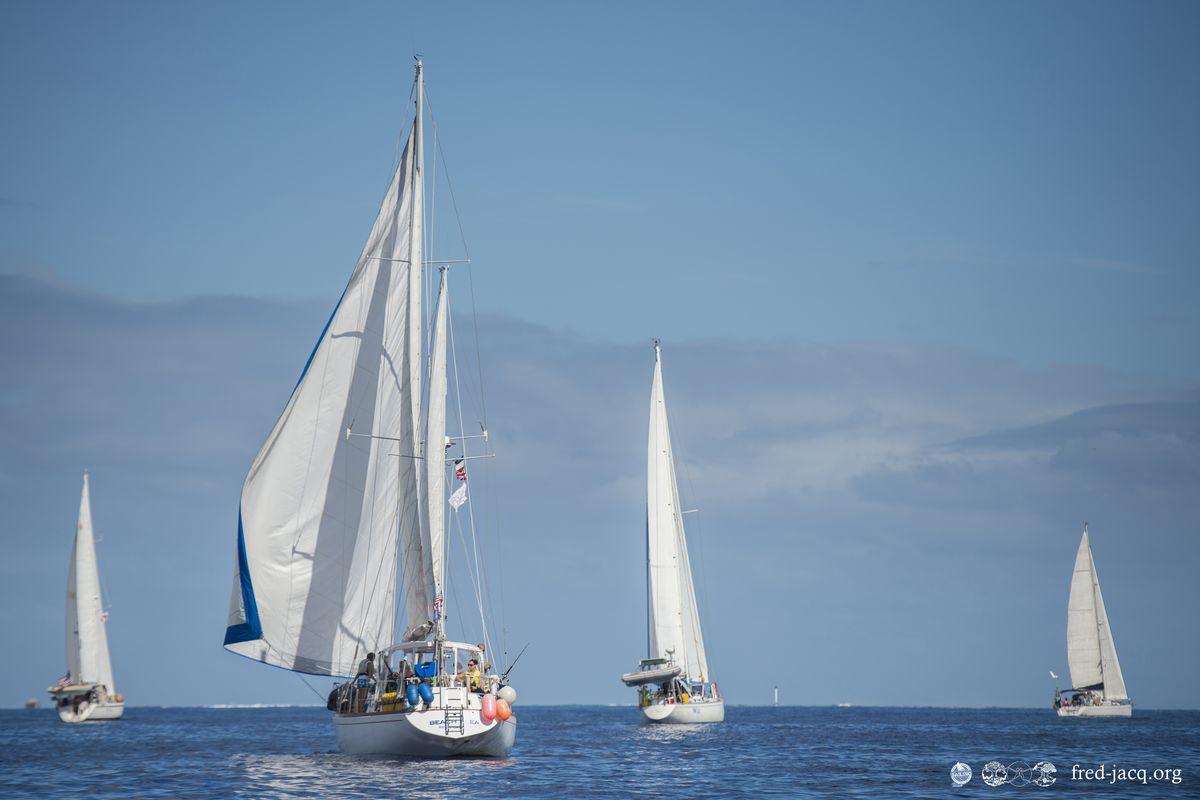 Succès de la 12ème édition de la Tahiti Moorea sailing RDV
