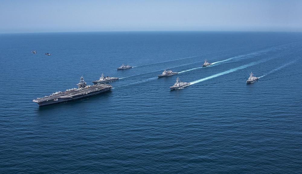 """Pékin furieux après une """"provocation"""" des Etats-Unis en mer"""