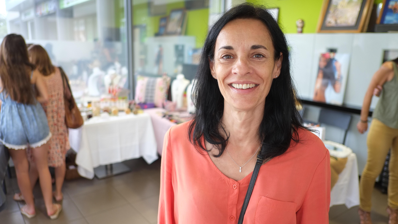 Véronique a lancé son entreprise L'îlot Bulles en 2014.