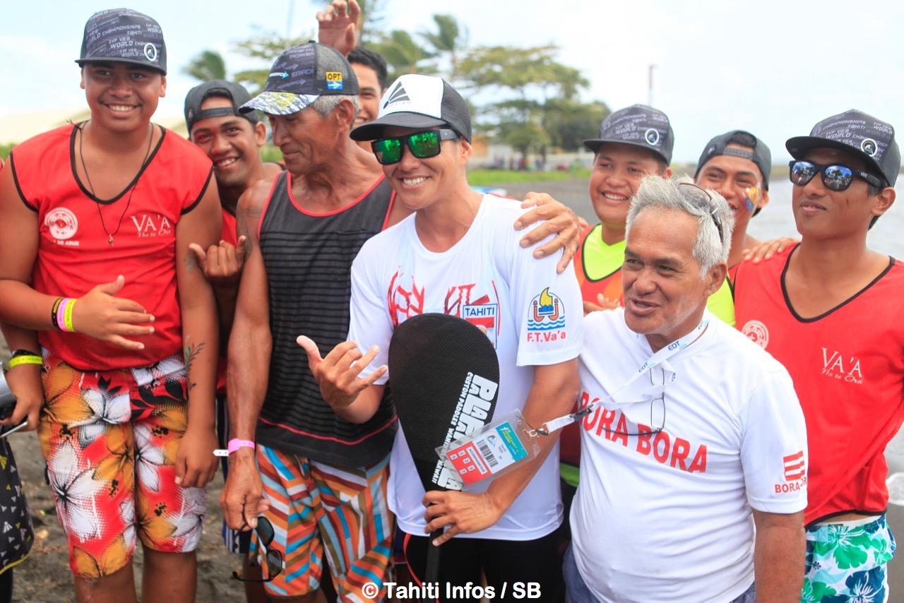 Hinatea Bernadino a invité les bénévoles à partager son succès