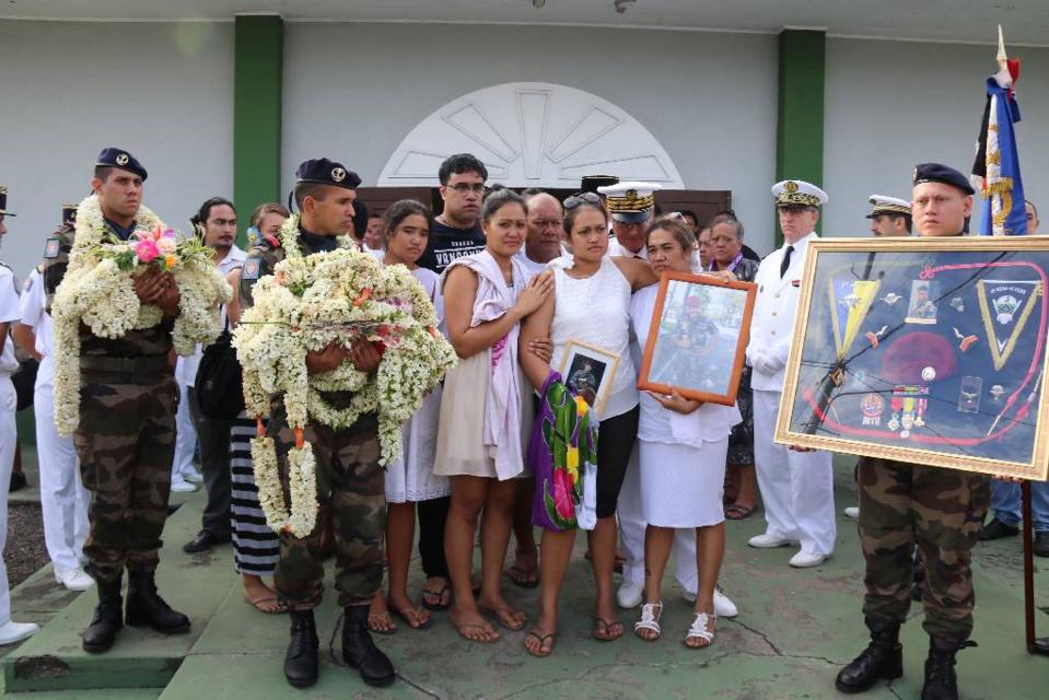 Office religieux en hommage à Albéric Riveta