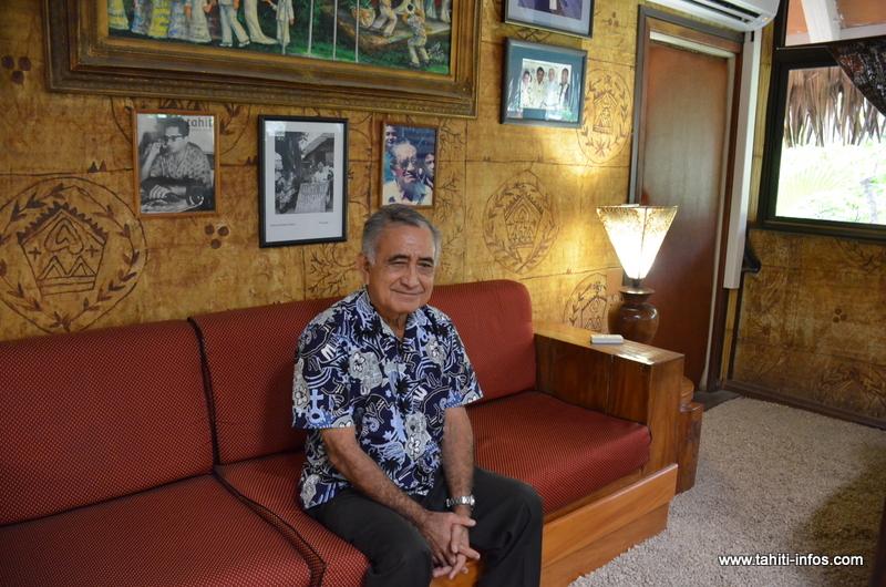 "Oscar Temaru : ""nous sommes en pleine néocolonisation"""
