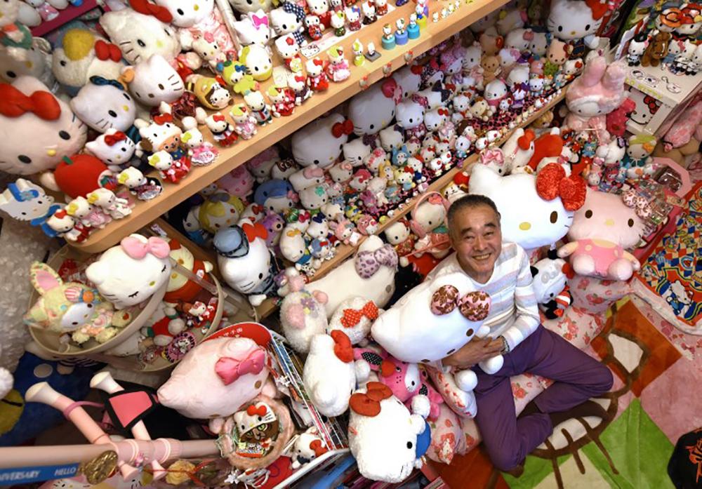 La plus vaste collection Hello Kitty du monde détenue par un ex-policier