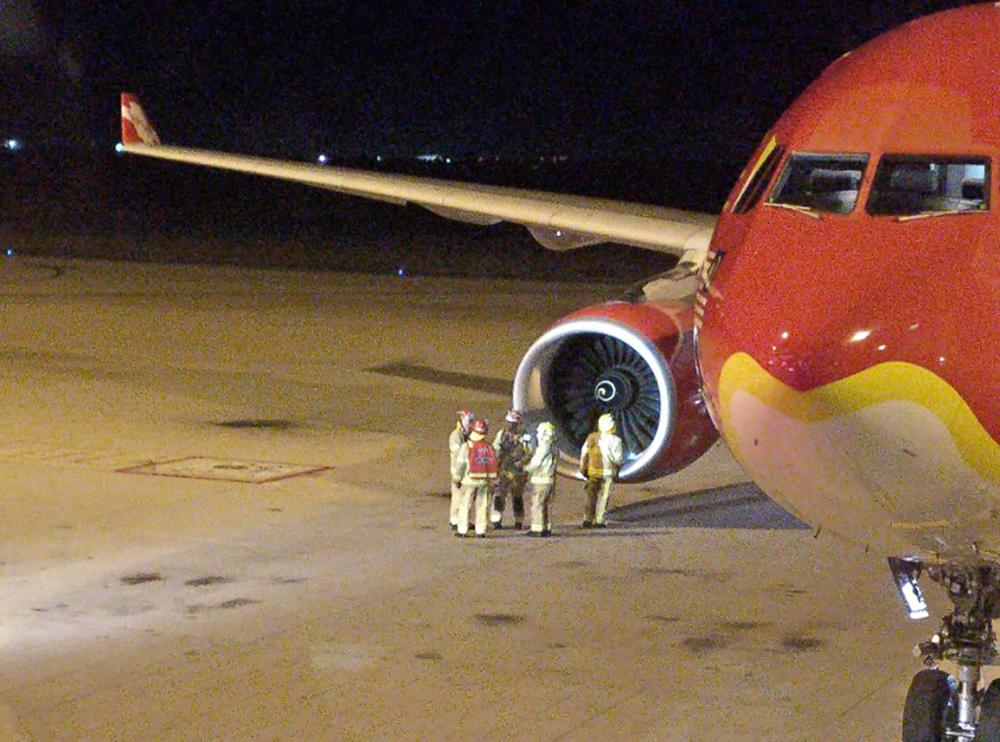 Un vol d'AirAsia se pose en Australie après avoir probablement percuté un oiseau