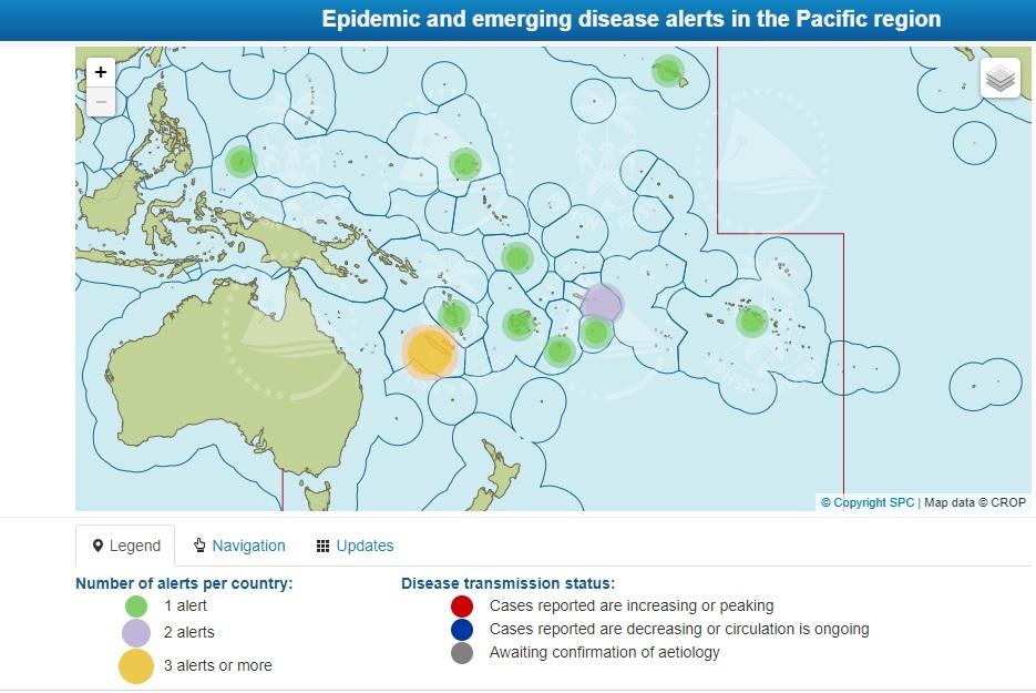 Maladies transmissibles : une surveillance à l'échelle du Pacifique