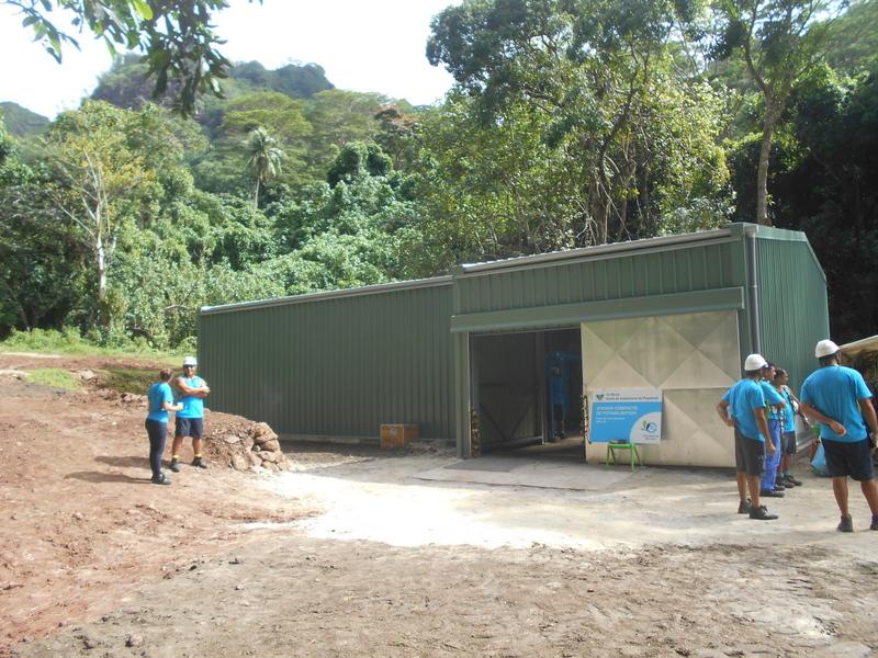 L'inauguration de cette nouvelle usine s'est tenue mardi dernier.