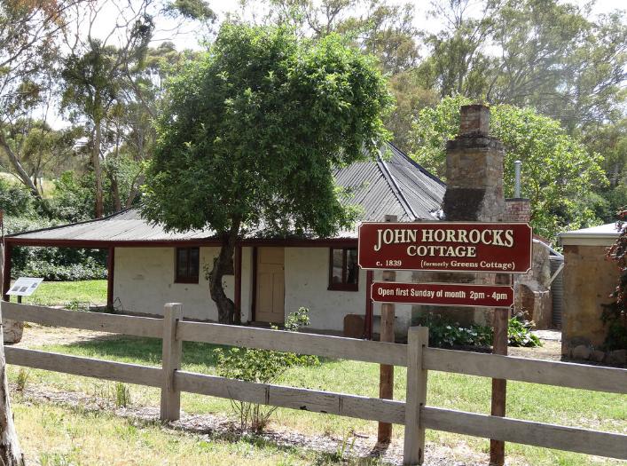 La maison que les frères Horrocks firent construire en 1842 a été conservée. Elle est aujourd'hui classée monument historique dans ce coin de l'Australie méridionale.