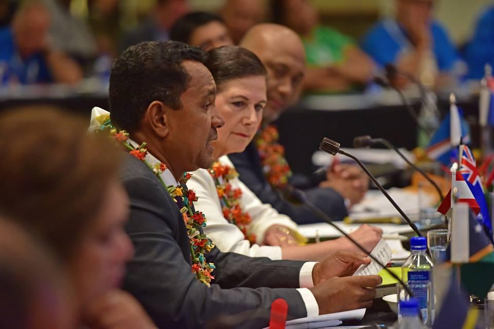 Tearii Alpha participe à la réunion préparatoire de la COP 23