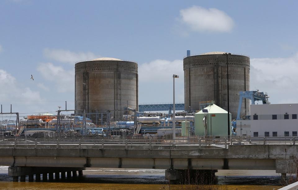 Une centrale nucléaire américaine (RHONA WISE / AFP)