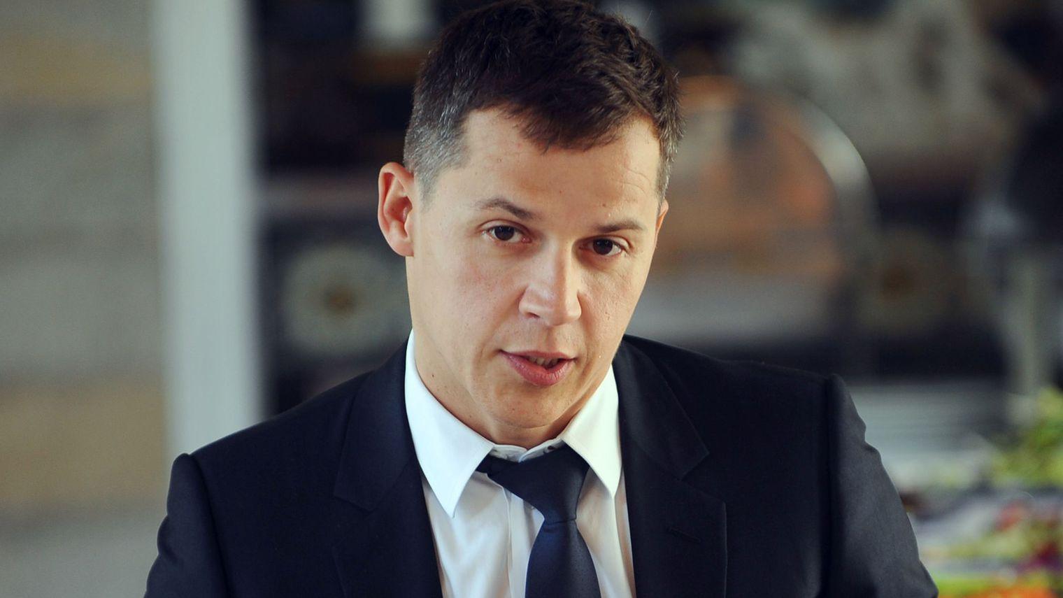 Le diplomate français Boris Boillon, le 17 février 2011 à Tunis. afp.com/FETHI BELAID