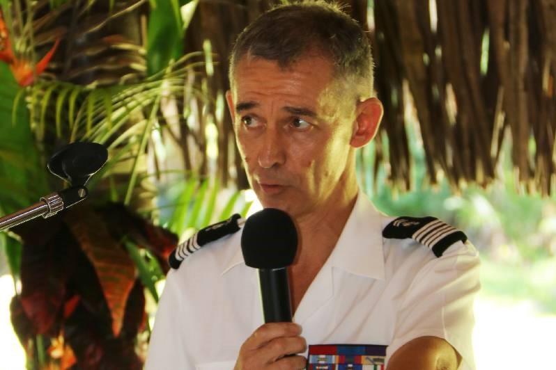 Le colonel Caudrelier.