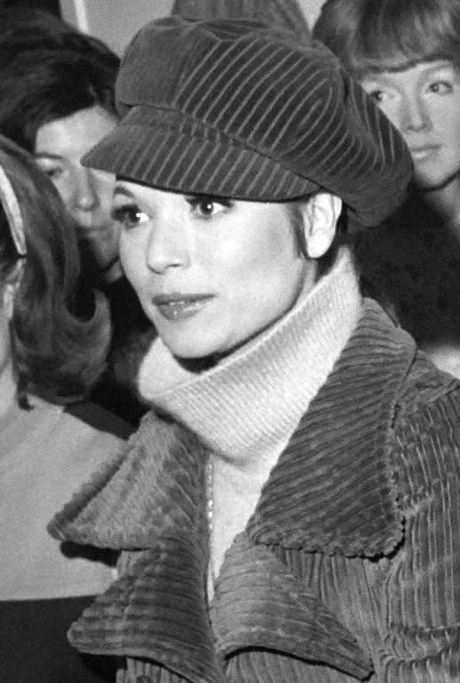 Décès de l'actrice italienne Elsa Martinelli