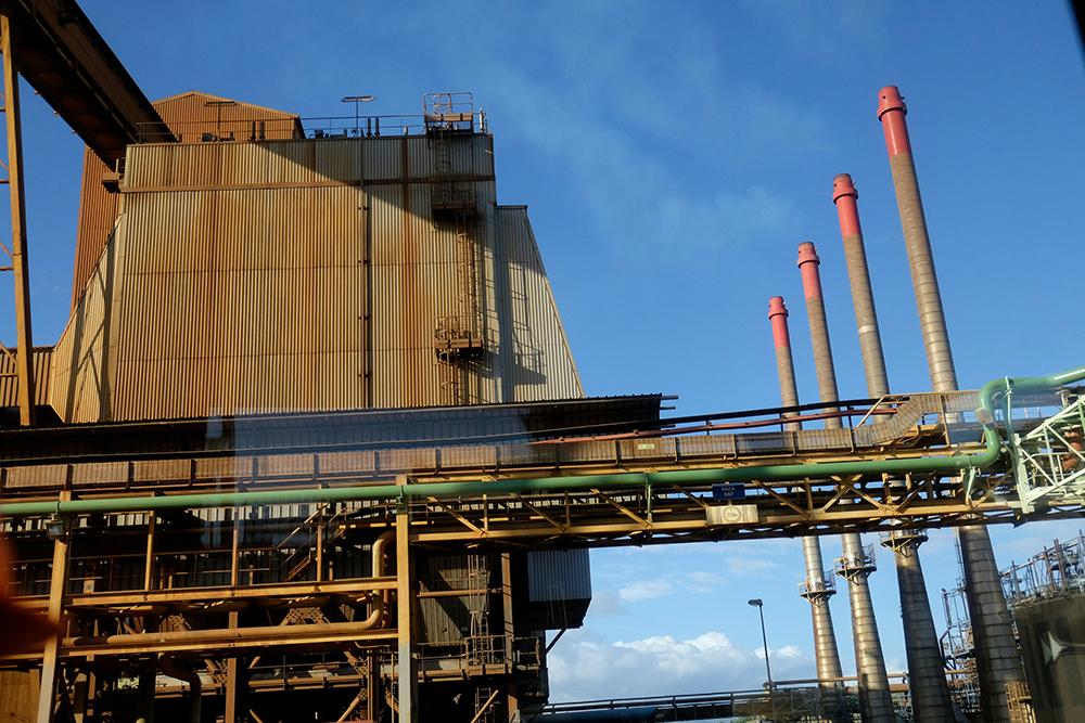N-Calédonie: incendie sur des installations de la Société Le Nickel
