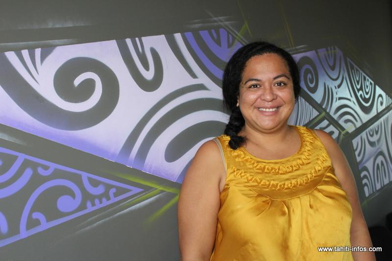 Hinatea Colombani, 31 ans, est une enfant de Papara et a créé le centre culturel et artistique 'Arioi.
