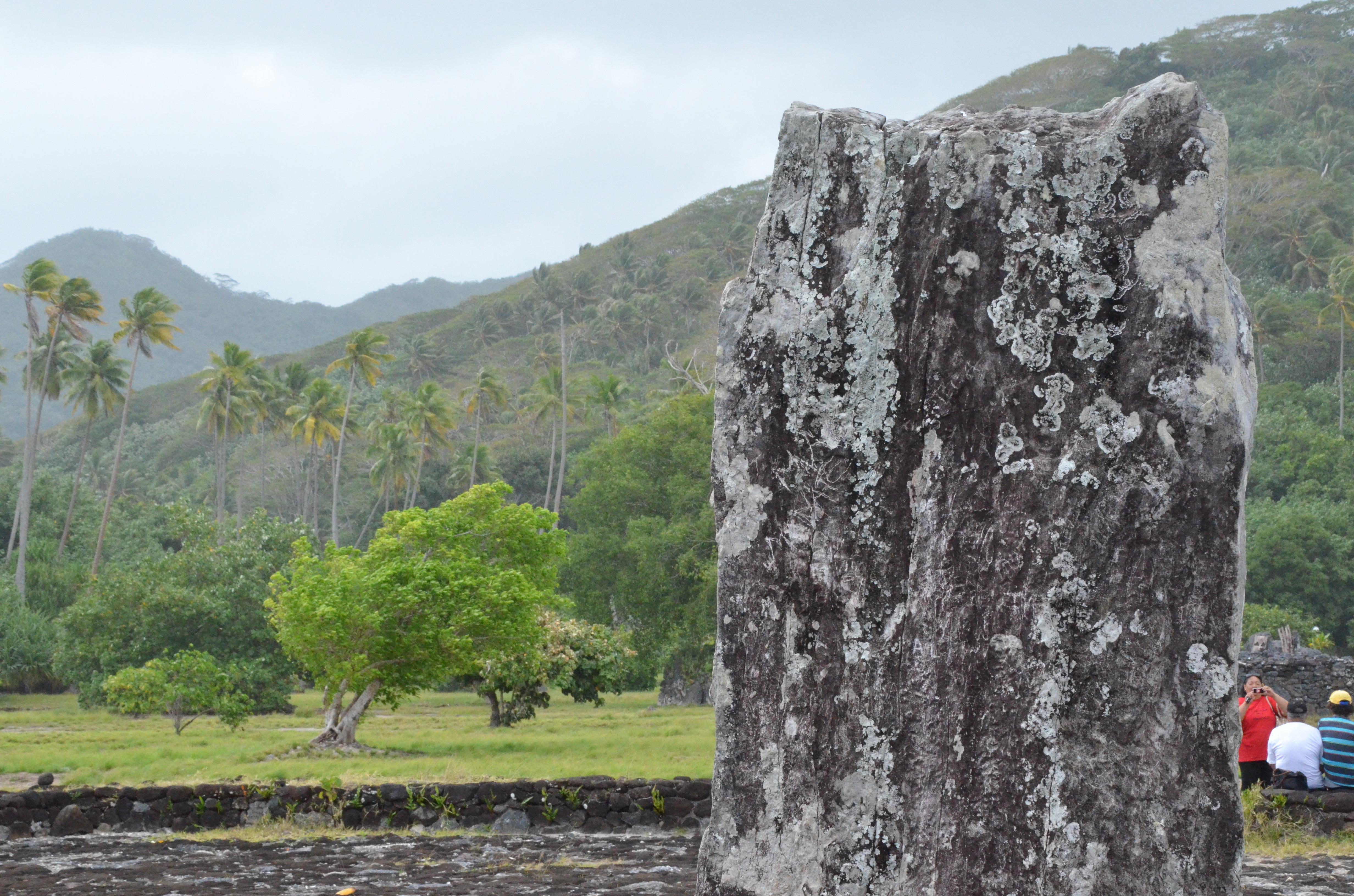 """Taputapuātea : un site qui mérite d'être """"mis en valeur"""""""
