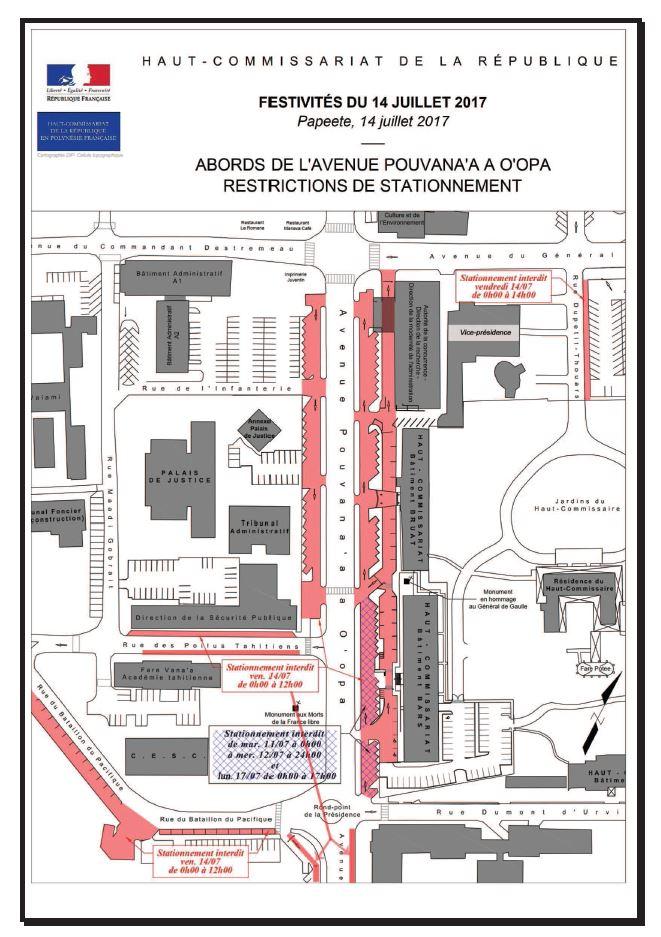 Défilé du 14 juillet : circulation partiellement fermée en centre-ville