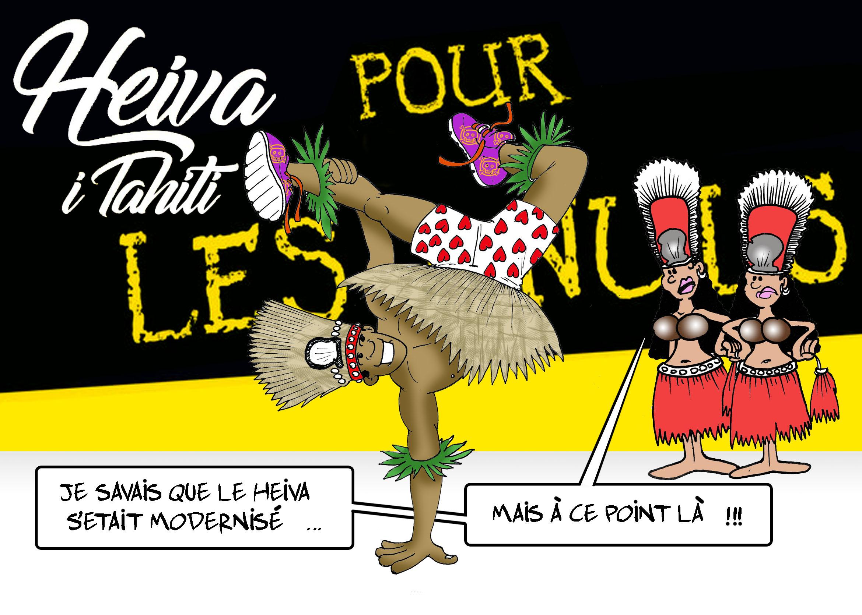 """"""" Le Heiva i Tahiti modernisé """" par Munoz"""
