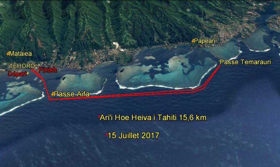 Kayak, V1, SUP : 1e édition de la Ari'i Hoe Heiva i Tahiti