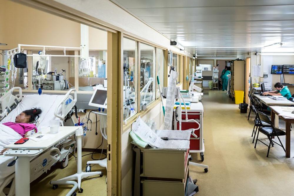 La réserve sanitaire prolongée au service néo-natal de l'hôpital de Cayenne
