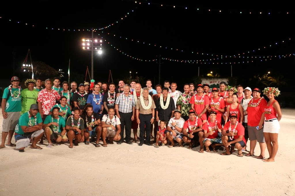 La cérémonie d'ouverture s'est tenue dimanche soir place Tuvavau.