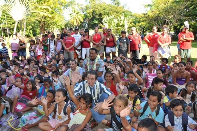 Le 27 juillet, 400 enfants issus de quartiers prioritaires de Hitiaa o te ra à Papara et de Papeete profiteront de la journée récréative organisée par l'association Police 2000.