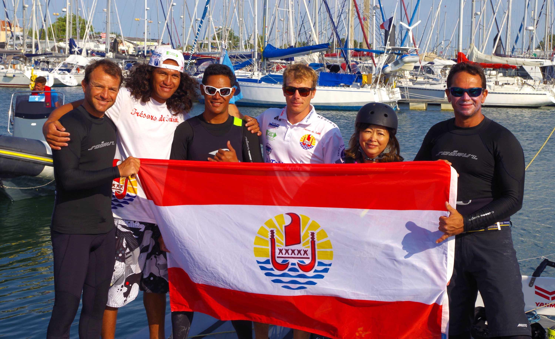 Voile : la délégation de la Polynésie française exprime son soutien à Trésors de Tahiti