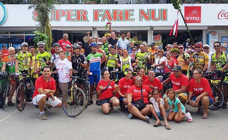 Cyclisme : Tuarii Teuira gagne la 2ème étape du tour Hava'i, Terii Teihotaata reste leader