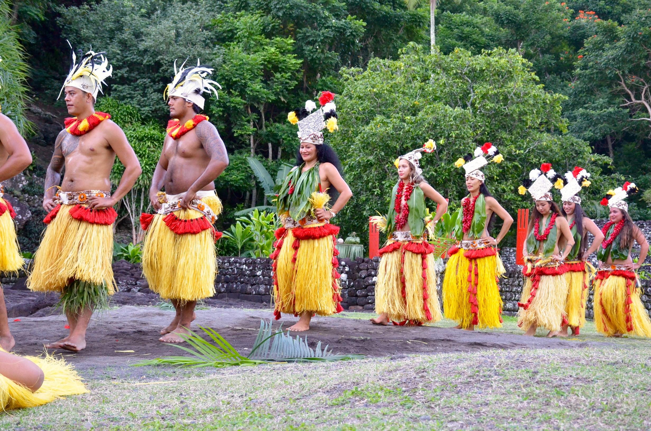 Temaeva fête ses 55 ans au Marae Arahurahu